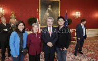 Charnsak and the president of Austria, November, 2013